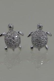 Tortoise Earrings