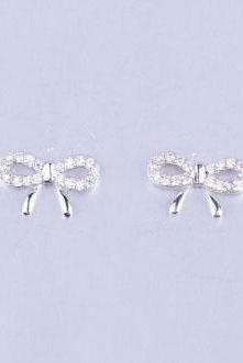 Cute Bow Tie Earrings